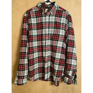 H&M Flannel Button Up